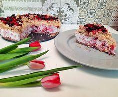 Cheesecake marmorat cu fructe de pădure Cooking Recipes, Fish, Meat, Dna, Chef Recipes, Pisces, Recipes