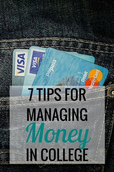 7 Tips for Managing Money in College - Very Erin Blog