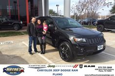 https://flic.kr/p/QuzAZd | Happy Anniversary to Summer on your #Jeep #Grand Cherokee from Chris Howard at Huffines Chrysler Jeep Dodge RAM Plano | deliverymaxx.com/DealerReviews.aspx?DealerCode=PMMM