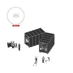 Практика малых форм Book Furniture, Interior Design Presentation, Interior Design Sketches, Coworking Space, Urban Design, Installation Art, Pop Up, Architecture Design, Competition