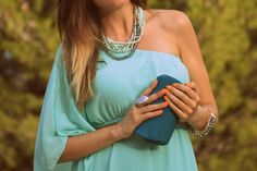 #mint #blue #green #lidiabedman #pregnant #look #blogger http://www.lidiabedman.com/2013/08/vestido-aguamarina.html