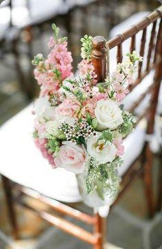 Wedding Inspiration - Chair Decor