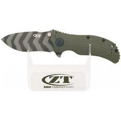 Zero Tolerance ZTDISPLAY1 Countertop Display, Clear Stand w/ Logo | MooseCreekGear.com | Outdoor Gear — Worldwide Delivery! | Pocket Knives - Fixed Blade Knives - Folding Knives - Survival Gear - Tactical Gear