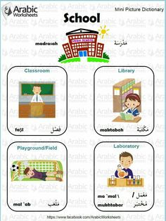 arabic vocabulary with pictures pdf