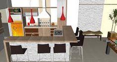 Resultado de imagem para mesa com rodinhas para area de lazer e churrasqueira