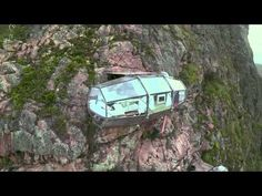Notable.ca | Travel Bucket List Alert: A Hanging Hotel You Rock Climb Up to and Zip-line Down From...