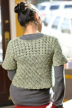 Green Chai Cardi - Media - Crochet Me