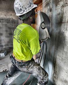 Elevator Shaft.. #ftlauderdale #constructionsite #concretecutting #concretecuttingmiami #miami #contractor #construction #demolition #concrete #concretelife