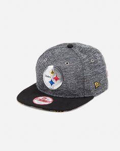 New Era Pittsburgh Steelers 9FIFTY Snapback Hat Grey Black 2c47b0fc1