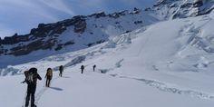 Experinece alpine mountaineering on Washington's Mount Rainier, Mount Baker, and Eldorado Peak