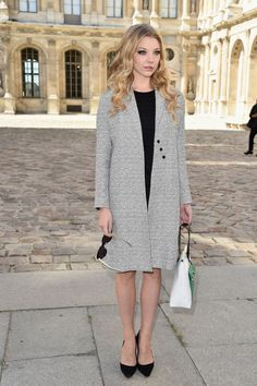 Natalie Dormer does fall dressing right. Photo: Pascal Le Segretain/Getty Images