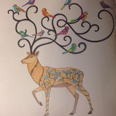 Johanna Basford Enchanted Forest Reindeer Prismacolor Pencils