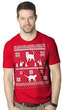 NWT Crazy Dog T Shirt 8 Bit Cat Butt Funny Ugly Christmas Sweater Shirt 2XL