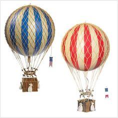 Home Decor Hot Air Balloon Large