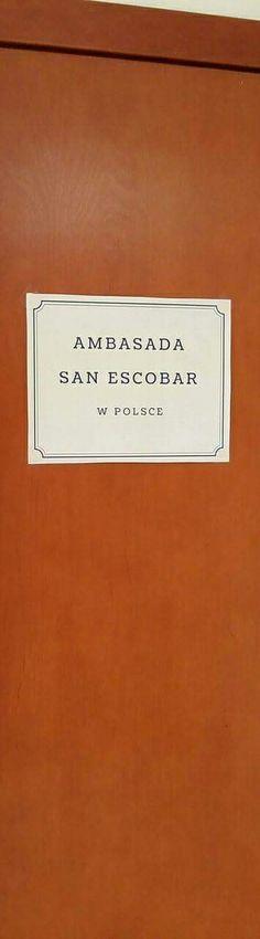 AMBASADA SAN ESCOBAR W POLSCE #minister #waszczykowski #sanescobar