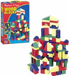 Painted Unit Block Sets 100-pc Set by Lights Camera Interaction. $20.91. LCI481 100 PIECE SET - These brightly colored solid wood blocks will provide countless building combinations with the large variety of shapes and sizes. Great for developing shape and color recognition, sorting skills, and manual dexterity.. Save 38%!