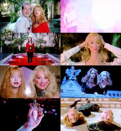 Death Becomes Her. . . Meryl Streep and Goldie Hawn. <3