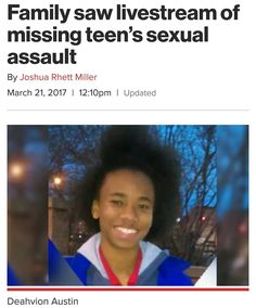 Just when you think humanity is left and something like this reminds us not all want help to function as 1 ... Insert  The girl identified by a police spokesman on Twitter as Deahvion Austin was found hours after Chicago police spokesman Anthony Gugliemi said investigators were working around the clock to find the girl after relatives said the missing teen had been assaulted by several boys on the social media platform.  The girls mother told police that Austins uncle discovered the…