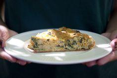 Vê a receita completa de Quiche de Atum e Legumes!