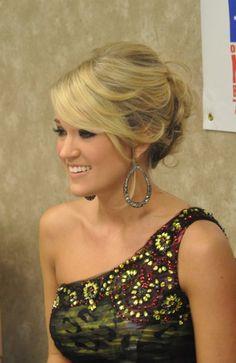 Carrie Underwood love this hair style Wedding Hair And Makeup, Hair Makeup, Cute Hairstyles, Wedding Hairstyles, Carrie Underwood, Beautiful Person, Celebs, Celebrities, Hair Today