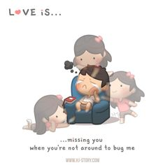 HJ-Story » Love is… Missing you