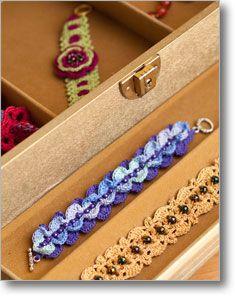 Blue Bead Bracelet