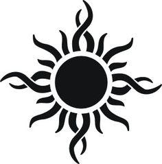 símbolo tribal del sol - Google Search