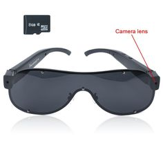 "Toughstyâ""¢ 8GB 1920x1080P HD Sunglasses Hidden Camera Eyewear Video Camcorder with Audio Function >>> You can find more details by visiting the image link."