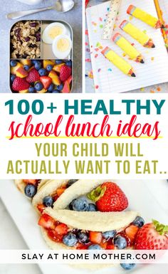 School Lunch Ideas - SLAYathomemother.com