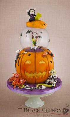 Pumpkin! - by littlecherry @ CakesDecor.com - cake decorating website