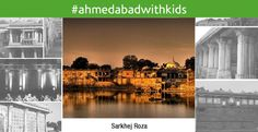 """#AhmedabadwithKids A huge, beautiful monument, moreover a photographer's paradise. Best visited in the early mornings. It doesn't have any specifics for kids, but open space is something our #kids so need. There is a proactive community trying to restore the roza.  A heaven for the architecture admirers, holds a typical crafting of pillars and monuments, that would easily become a mouth watering visit for an architectural lover. A proud part of our """"Garvi Gujarat"""" #Ahmedabad #SarkhejRoza"""