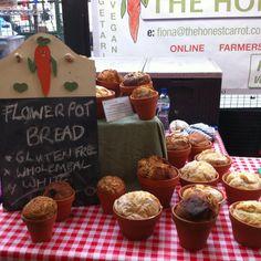 Flower Pot Bread at Borough Market
