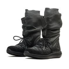 0eff5fefaa Nike Women's Roshe Two Flyknit Hi Lifestyle Shoe Size uk 4 Model 861708-001