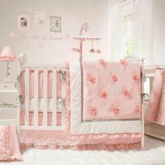 The Peanut Shell® Arianna 4-Piece Crib Bedding Set - BedBathandBeyond.com
