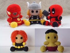 Die 334 Besten Bilder Von Häkeln Comics Superhelden Crochet