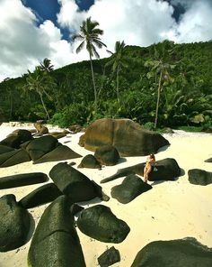 #Seychelles, wow not a lot of room for a towel but who needs one, hahahaha