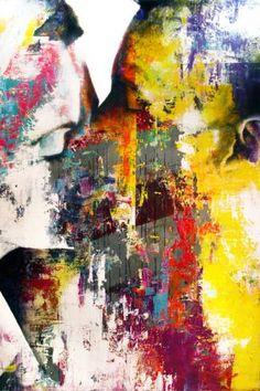 "It's almost Valentine's Day!  Yoakim Bélanger's ""Collision""   www.galerieleroyer.com"