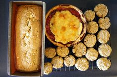 Brown Butter White Chocolate Loaf, strawberry tart, and oatmeal cookies! | Shikha la mode