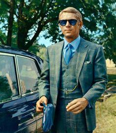 """Steve McQueen in """"Thomas Crown"""""""