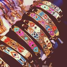 tribal bracelets.