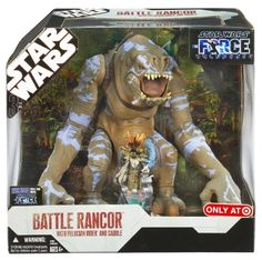 Star Wars FU JUNGLE RANCOR w Felucian Rider >>> Check this awesome product by going to the link at the image.Note:It is affiliate link to Amazon.