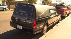 Hearse with casket stolen during funeral- Bad Timing