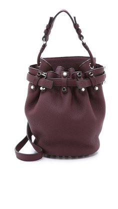 b76787cad8 Alexander Wang Diego Small Bucket Bag