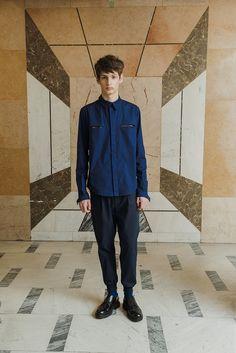 MEI KAWA   Hidden Button Line Shirt Fall Winter, Normcore, Sweatshirts, Model, Button, Collection, Fashion, Moda