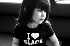 I love black!