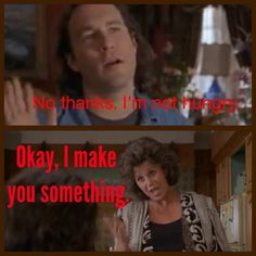 "...don't even bother saying you're ""not hungry"" because you know either way, you're gunna eat! hahaha Gotta love My Big Fat Greek Wedding"