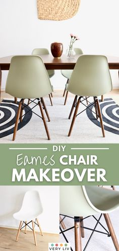 If you've outgrown your Eames chairs and realized the scandi style isn't for you, don't despair! These plastic chairs are so easy to flip, especially if you have the Eiffel chair kind with wooden legs. Choose a wood stain that will suit your decor, pick your favorite paint and read on to find out how to give your Eames chair a simple makeover in 3 steps! Find more DIY & Crafts on VeryLiv!
