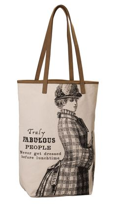 Truly fabulous people never get dressed before lunchtime Tote