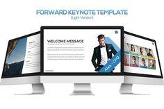 Forward Keynote Template by inspirasign on @creativemarket
