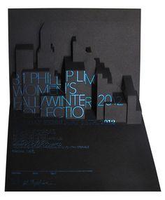 3D invitation for 3.1 Phillip Lim Invite designed by Tracy Ma.